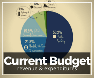 Current Budget - Revenue and Expenditures