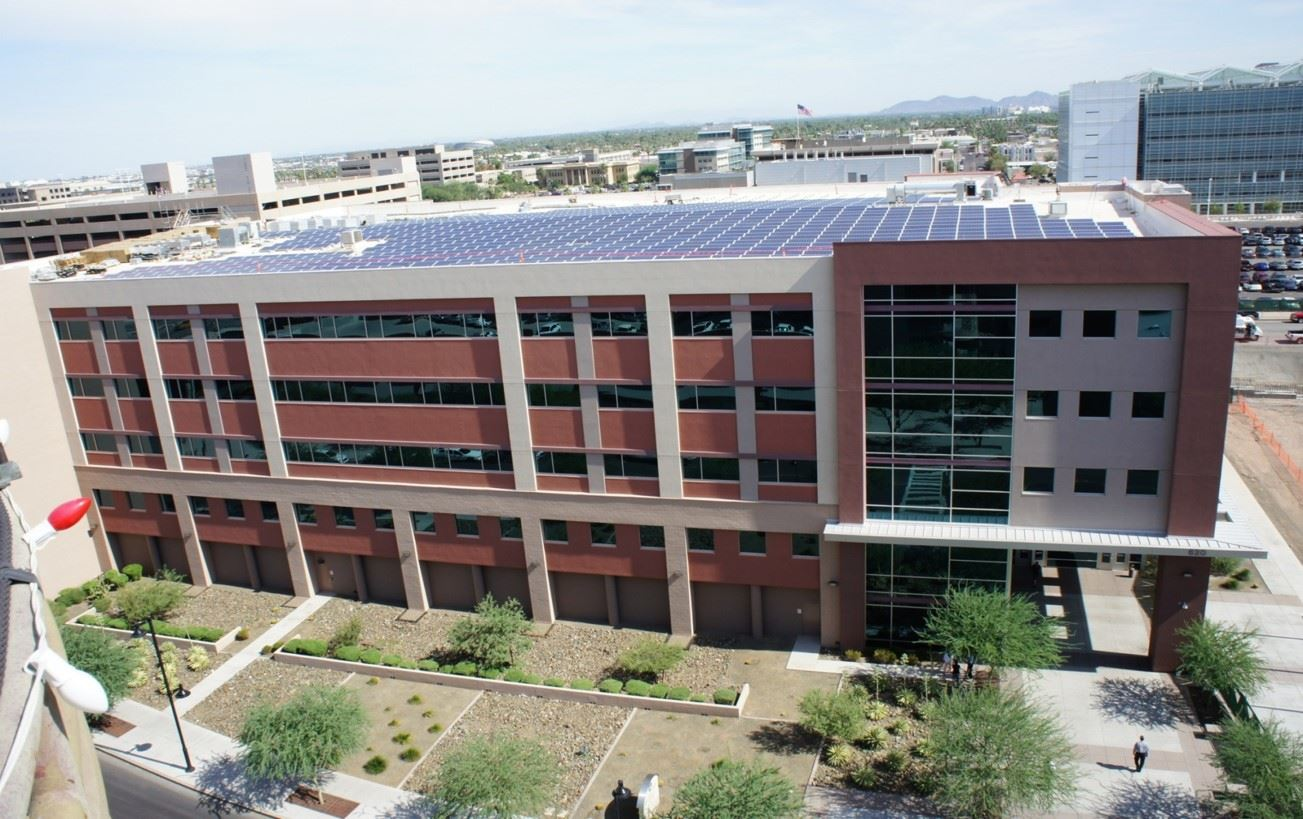 downtown justice center solar